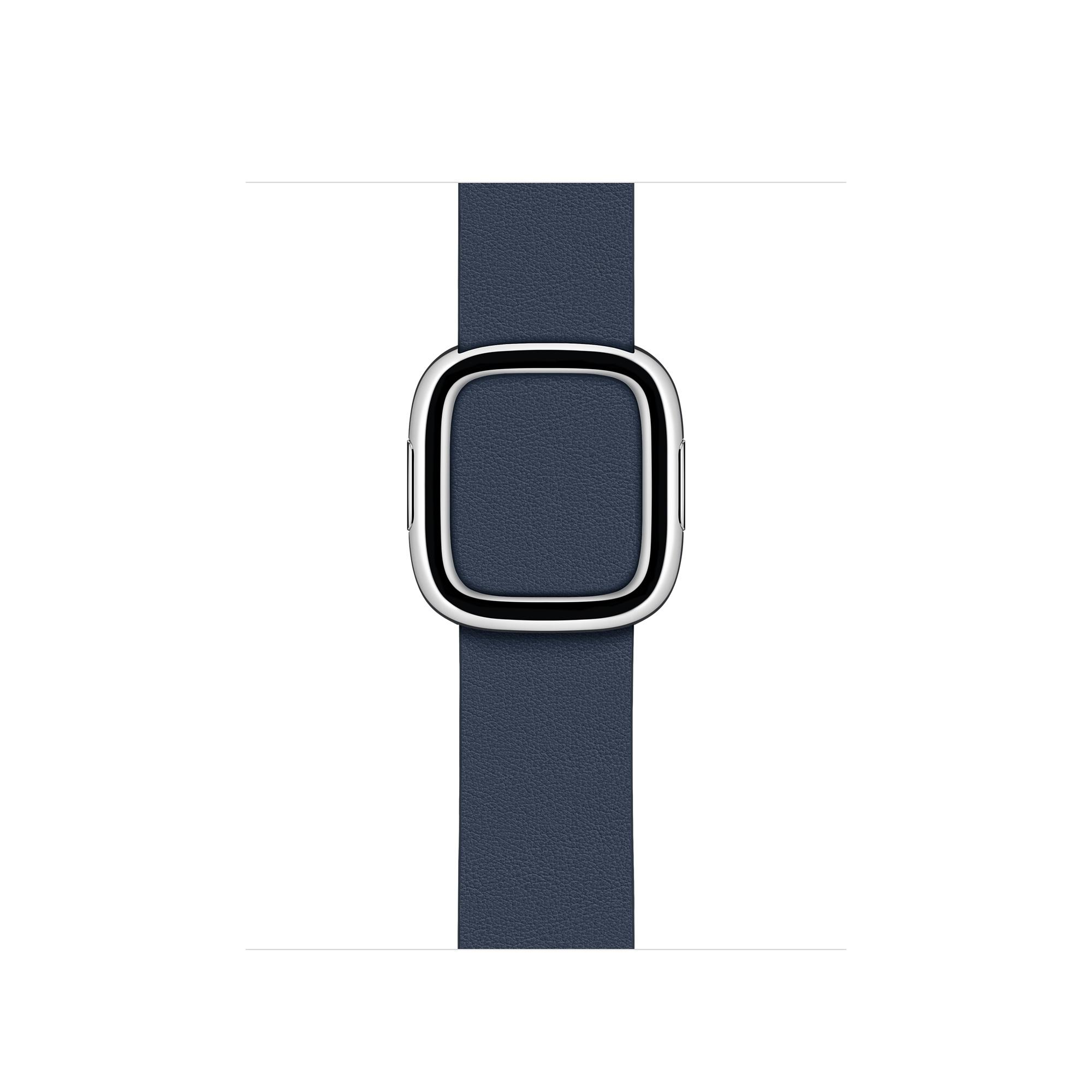 Ремешок цвета «синяя пучина» ссовременной пряжкой (длякорпуса 40мм), размерS