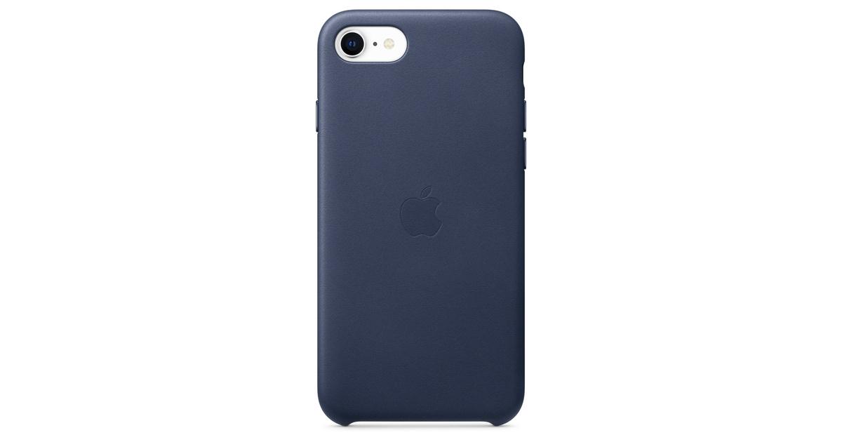 custodia in pelle per iphone 6 - blu notte