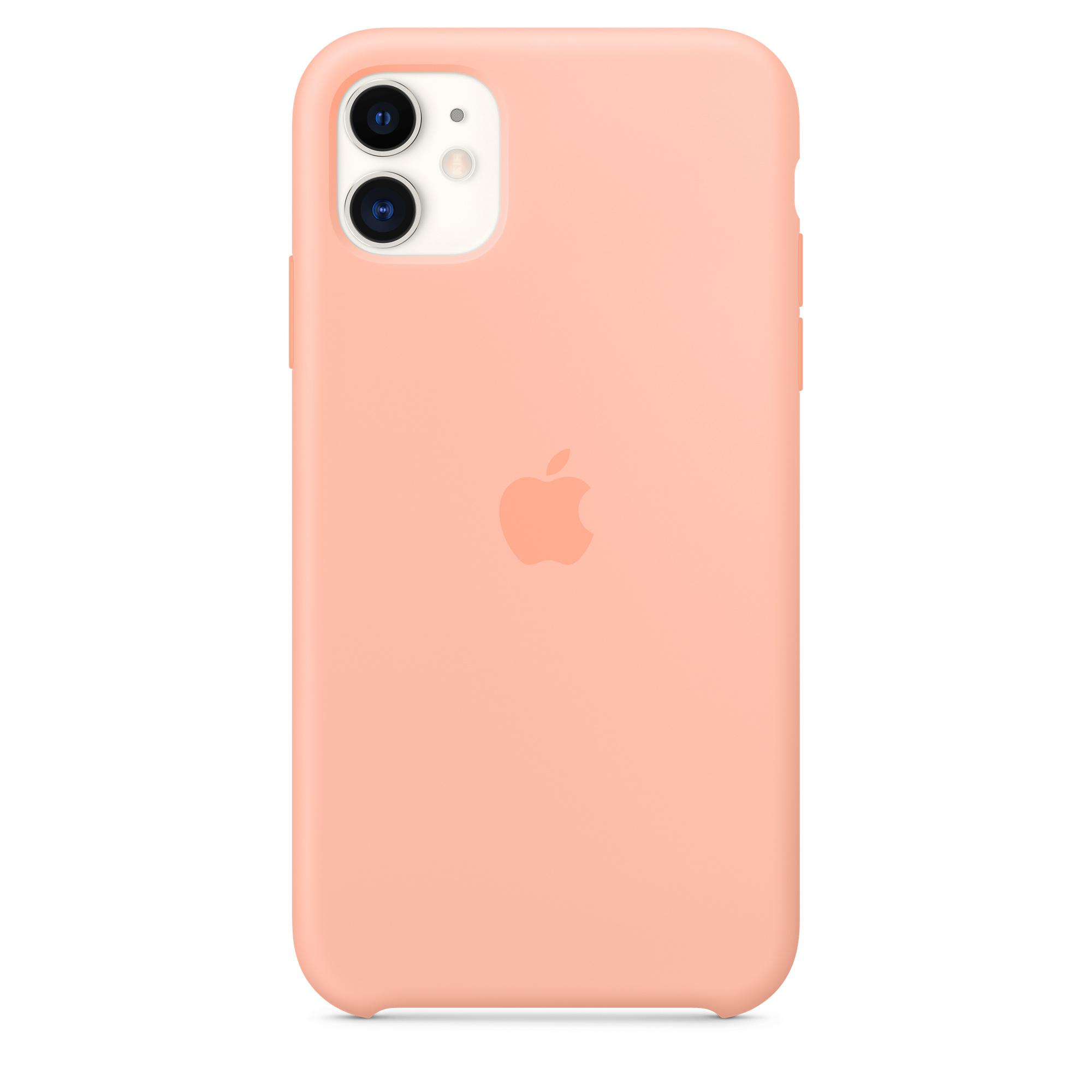 Iphone 11 Silicone Case Grapefruit Apple Ae