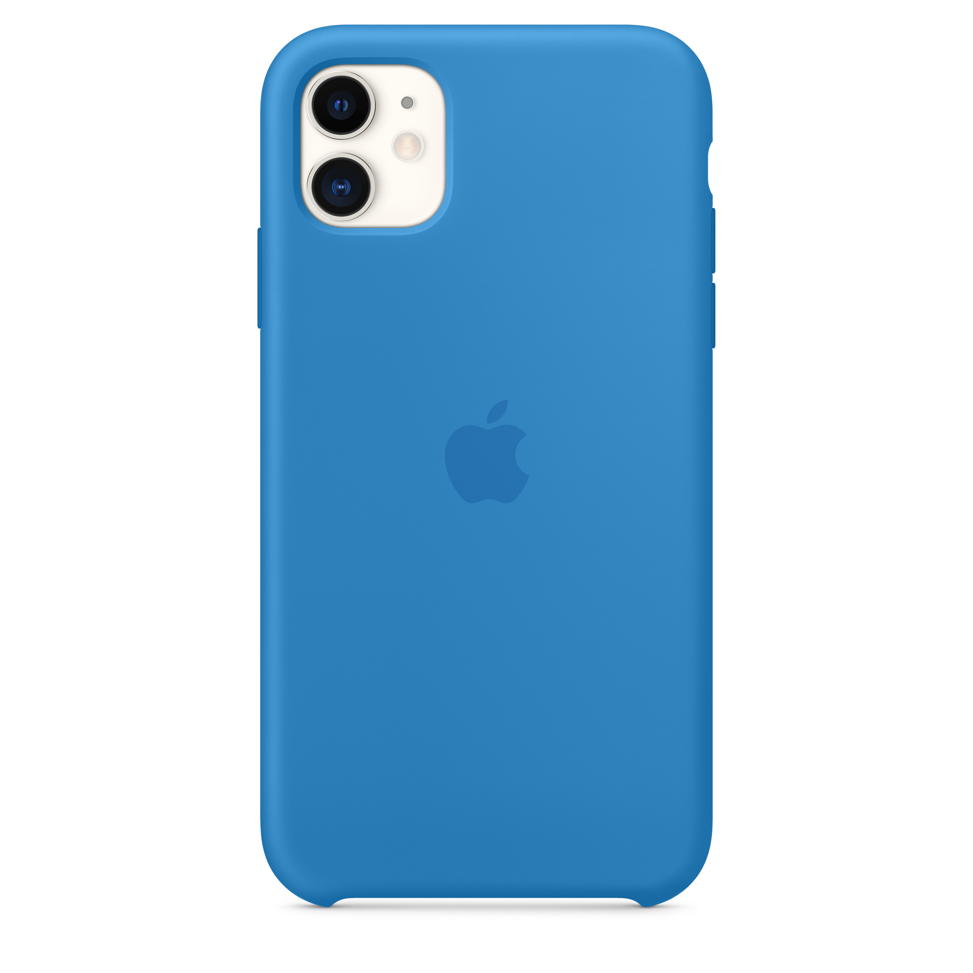 Capa Em Silicone Para Iphone 11 Azul Surf Apple Pt