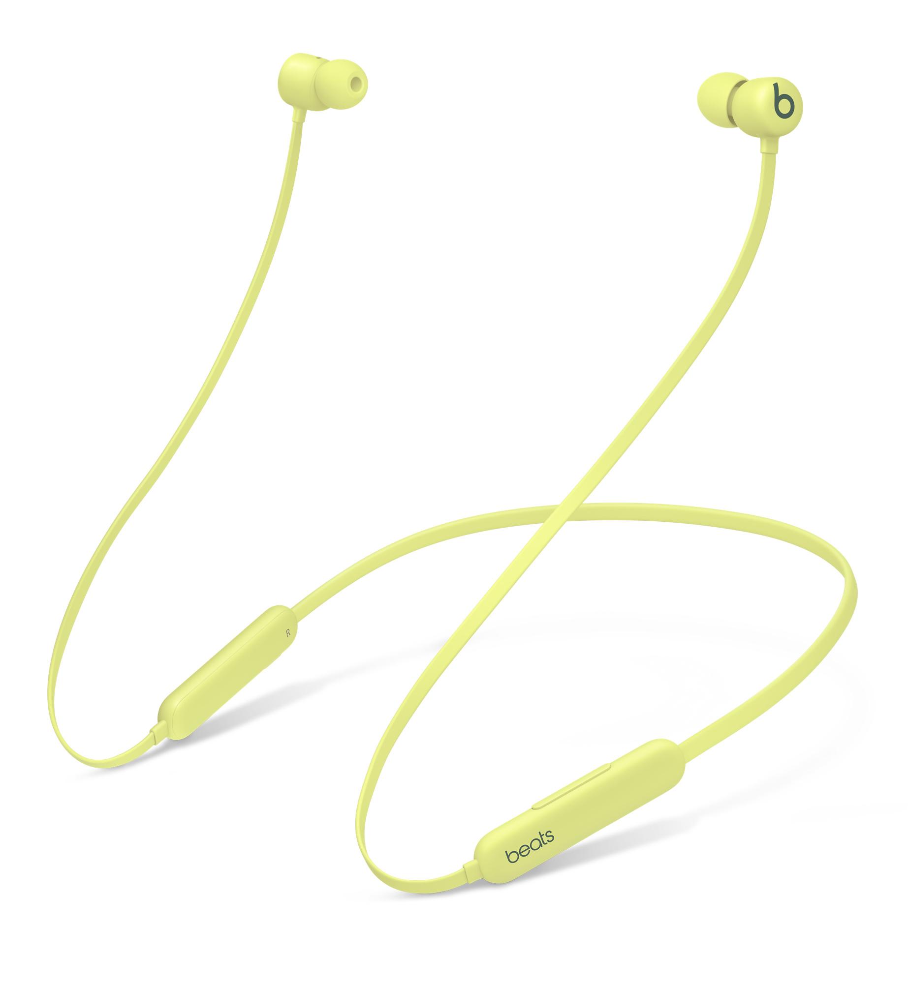 Беспроводные наушники-вкладыши Beats Flex, серия All‑Day Wireless, цвет «жёлтый цитрус»