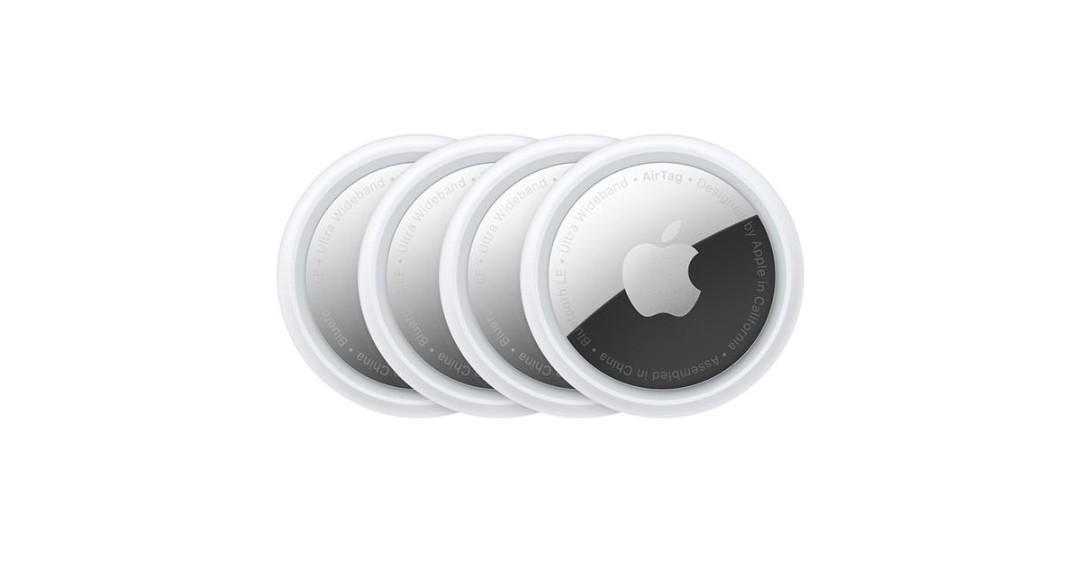 Balení čtyř AirTagů - Apple (CZ)