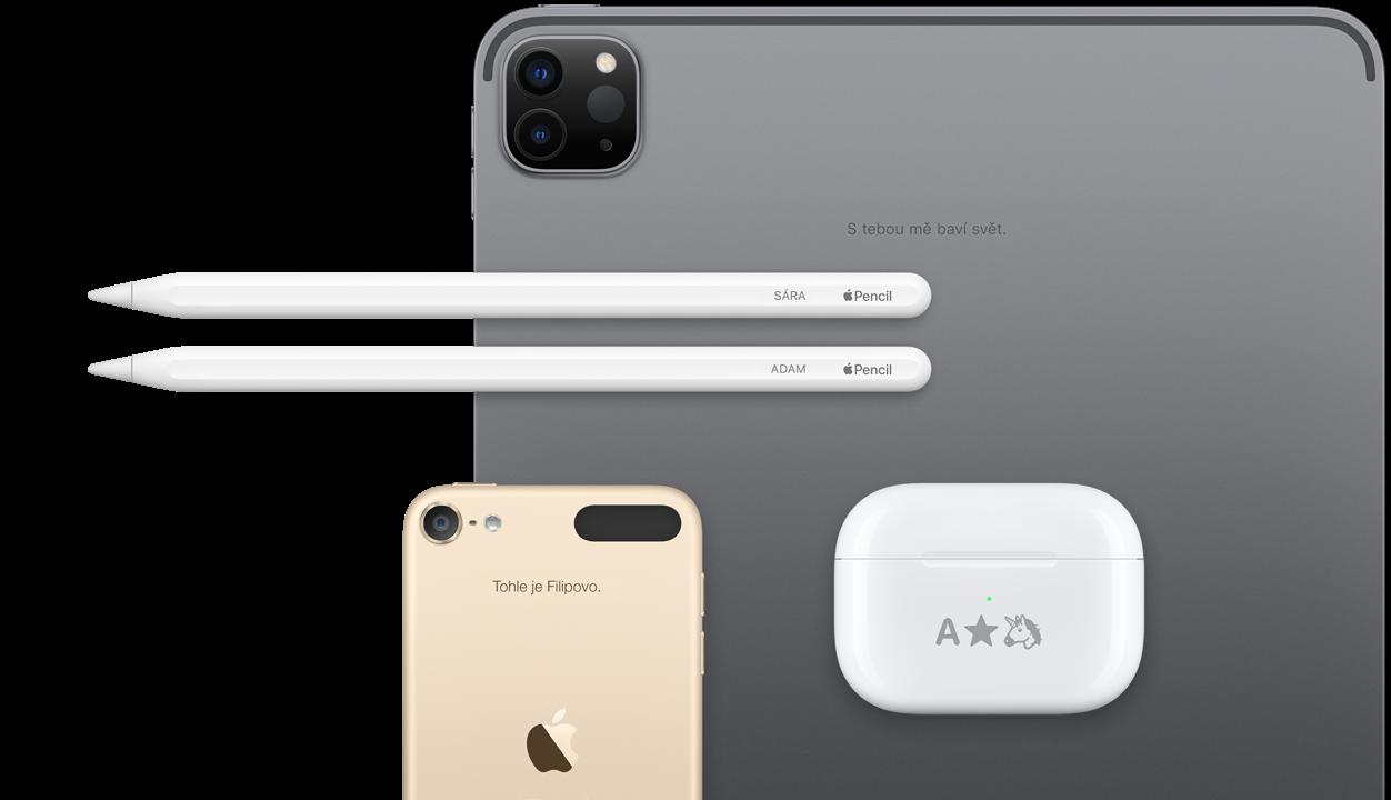 Gravírování a dárkové balení - Apple (CZ)