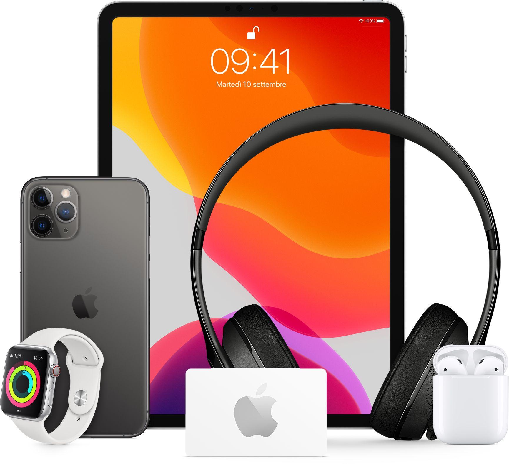 Carte regalo Apple Store