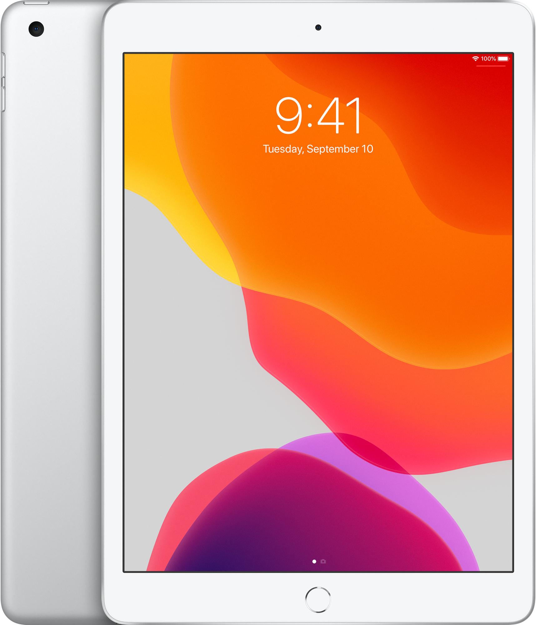 10,2‑inch iPad, Wi‑Fi, 128GB, zilver