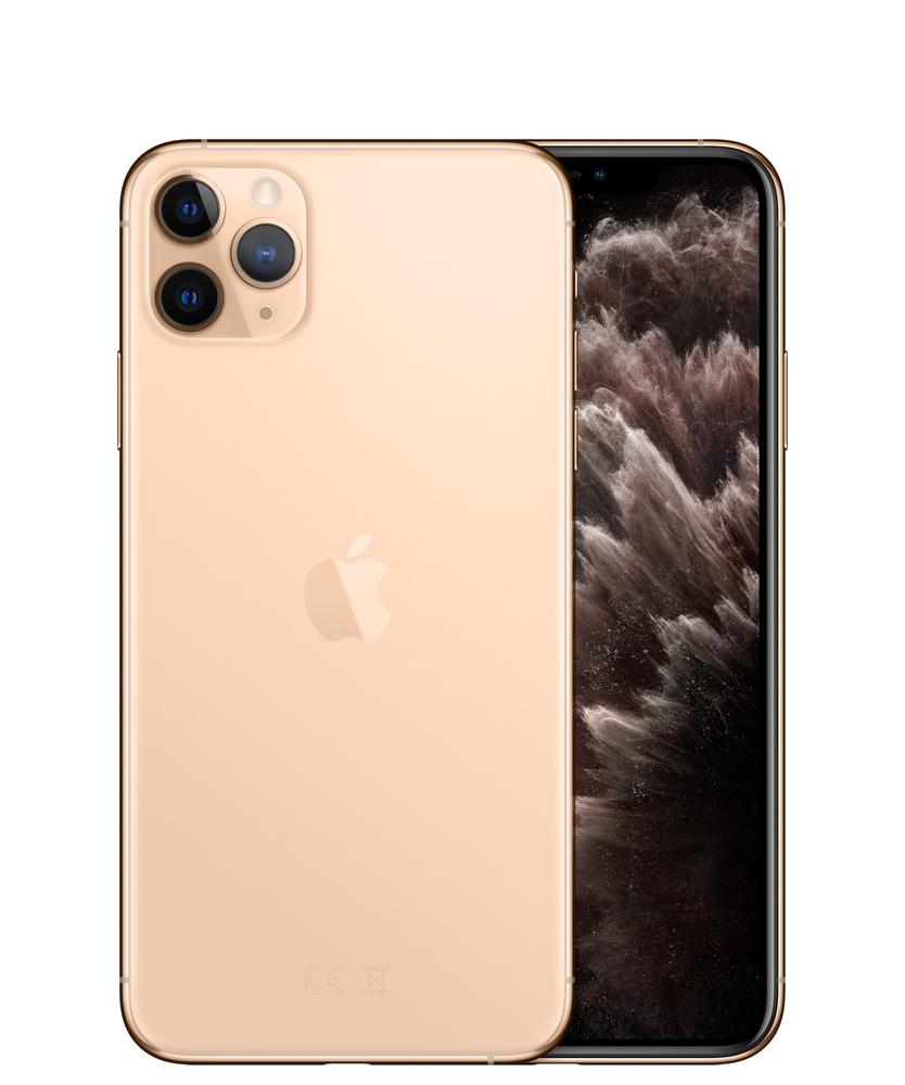 iPhone 11 Pro Max, 512 ГБ, золотой - Apple (RU)