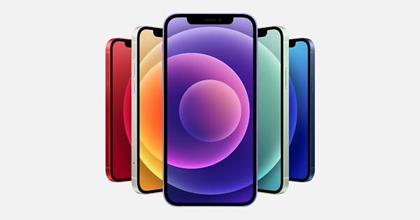 iPhone12 paars