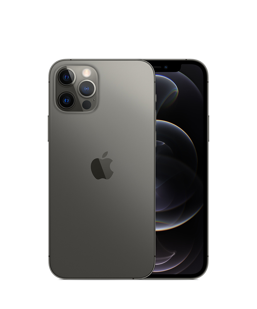 iPhone12Pro, 128ГБ, графитовый