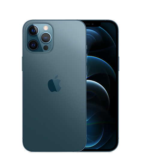 iPhone 12 Pro Max 512GB Pacific Blue - Apple (IN)
