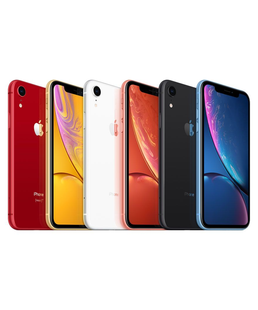 gama de cores do iPhone XR