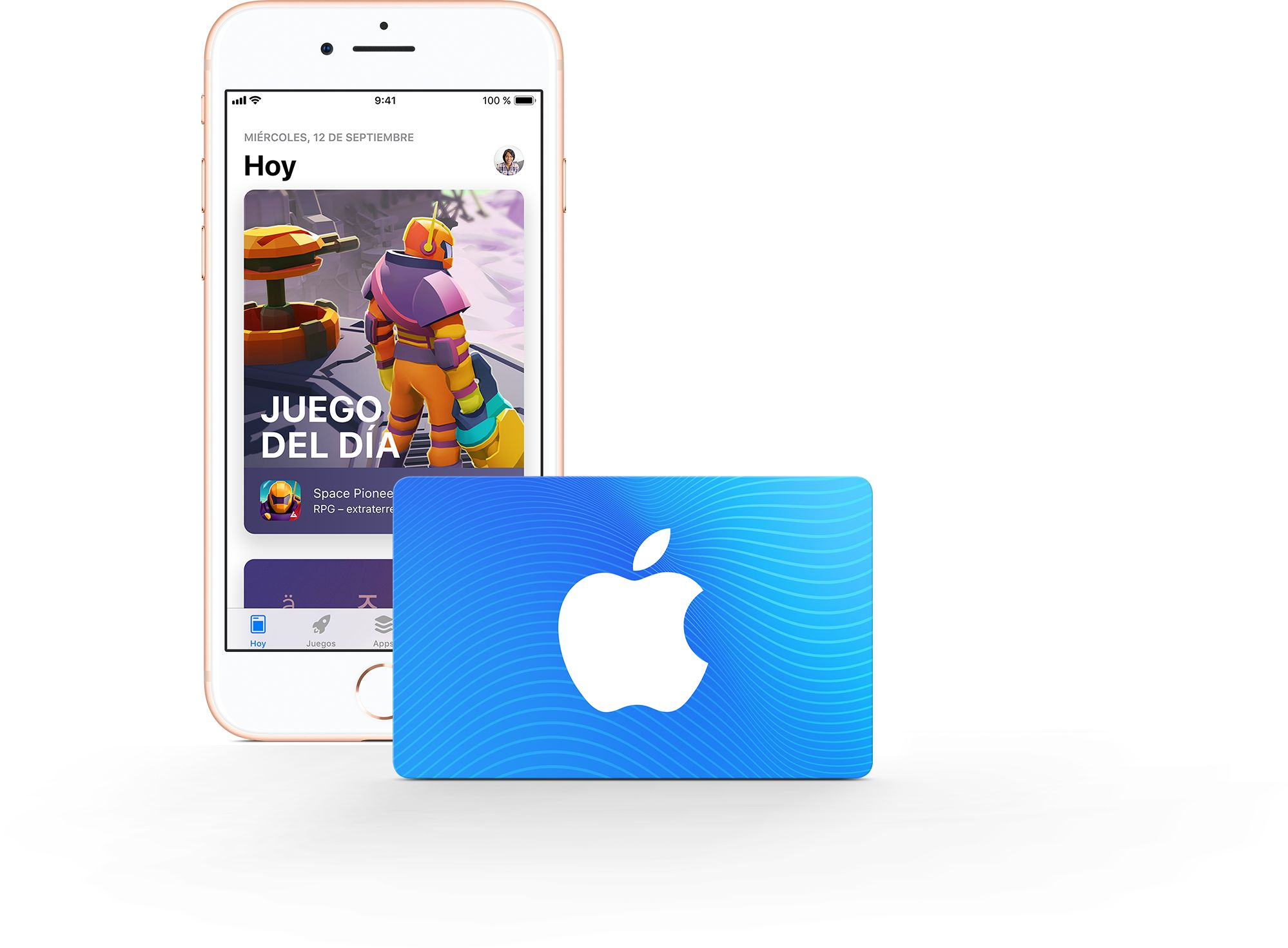 Tarjeta regalo AppStore & iTunes