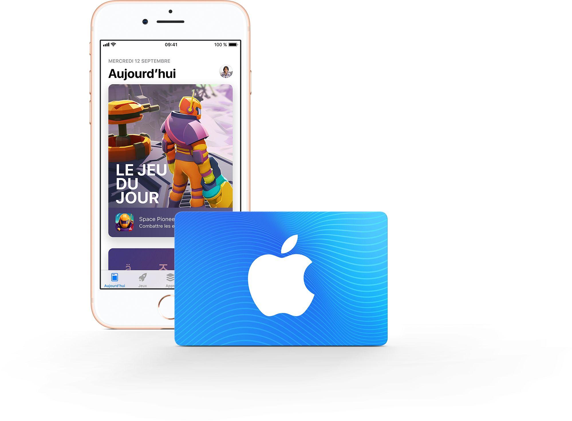 Carte Cadeau App Store & iTunes