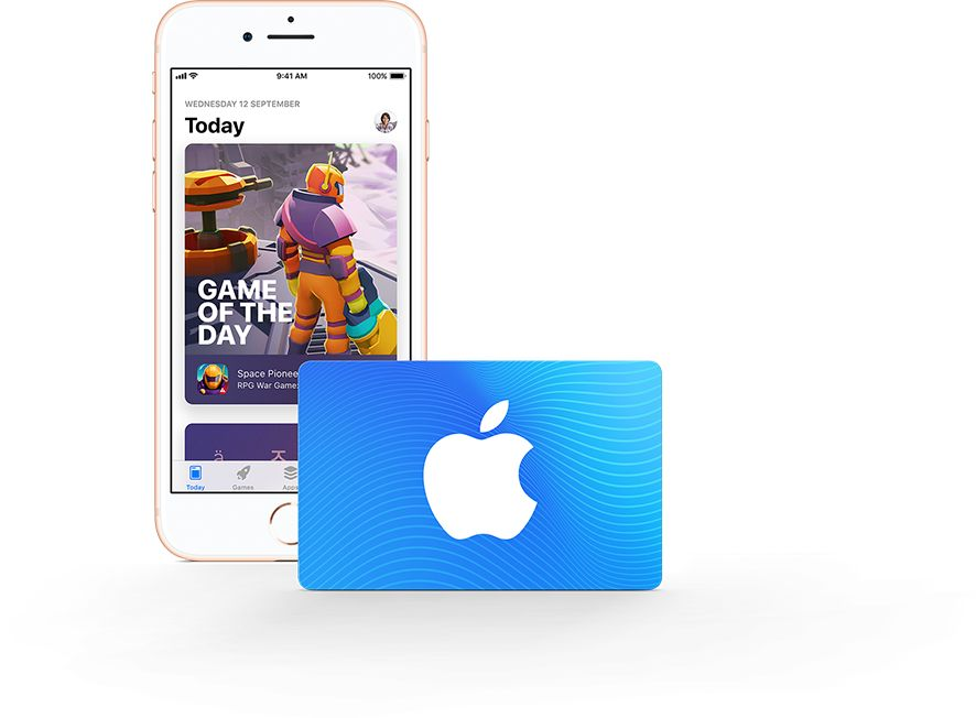 Gift Cards - Apple (UK)