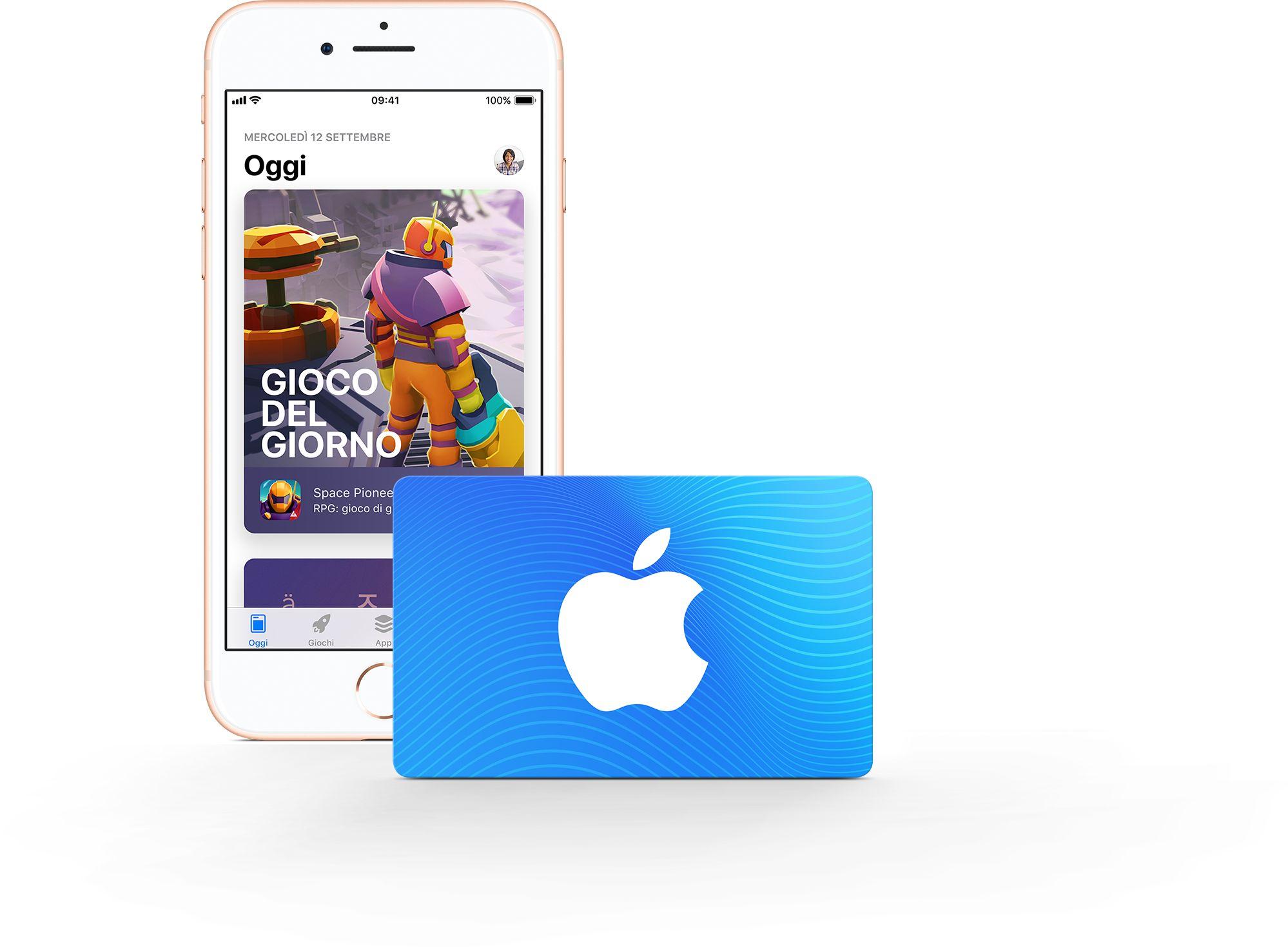 Carta regalo AppStore & iTunes