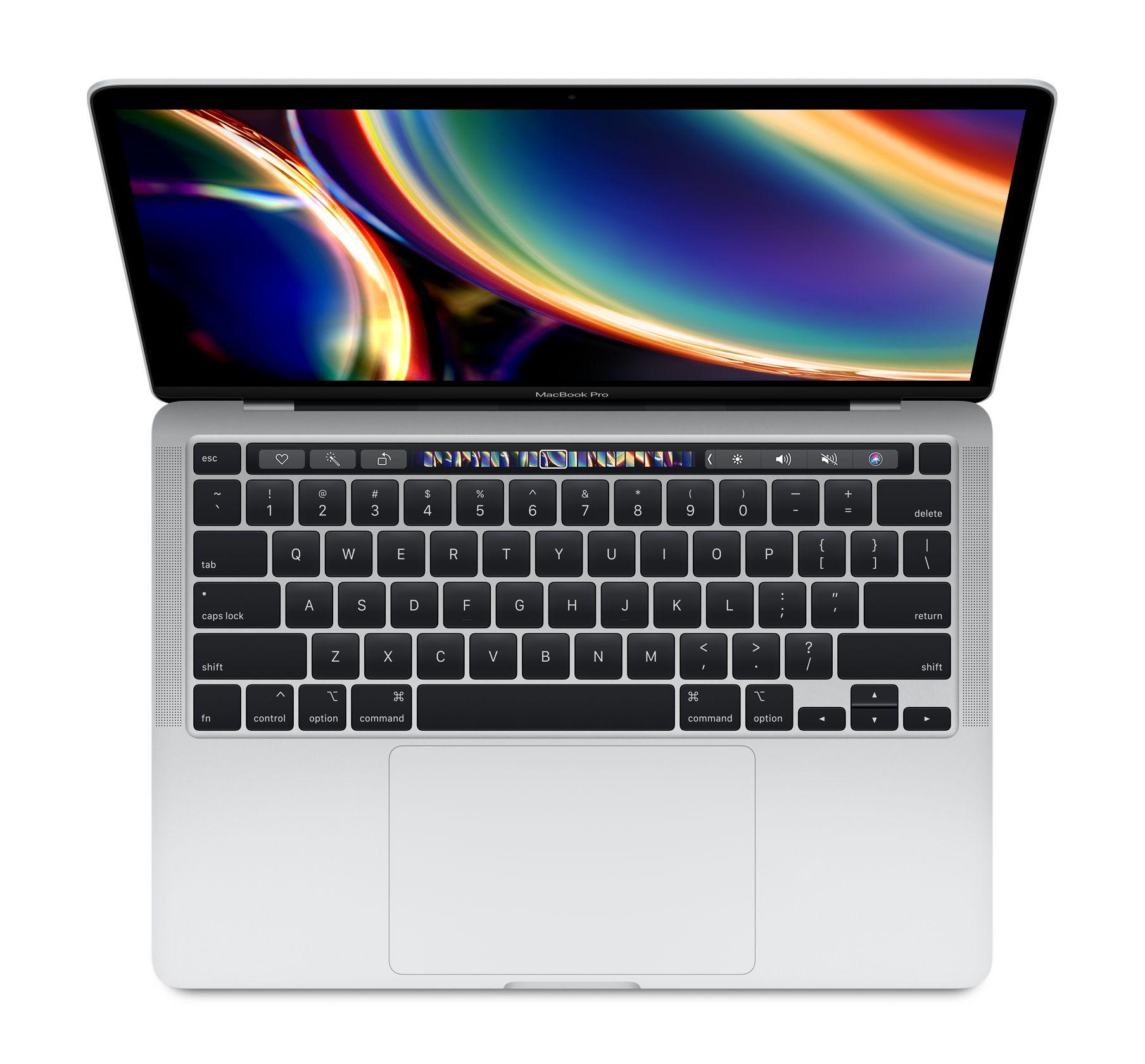 13 tommers MacBook Pro ???sølv