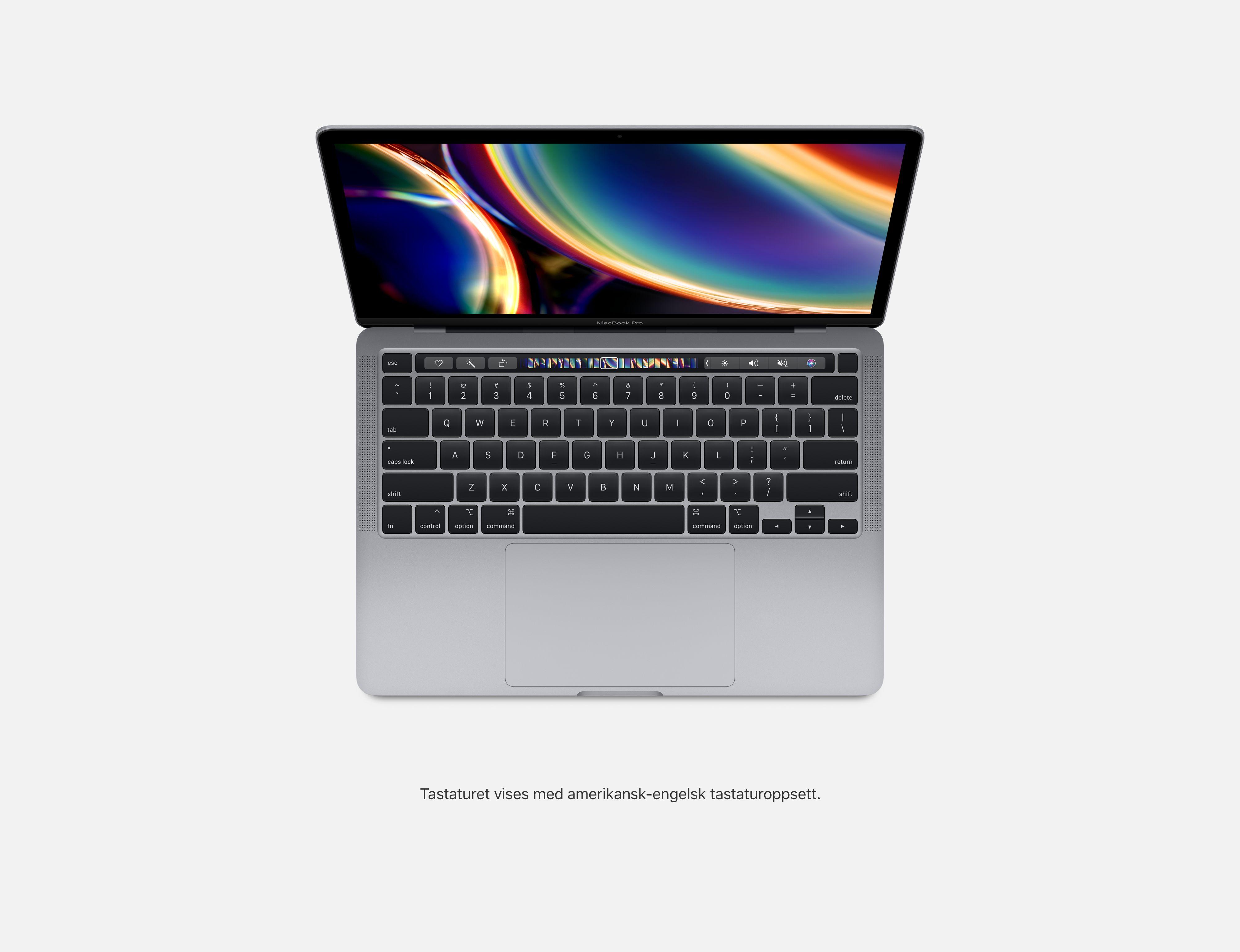 13 tommers MacBook Pro – stellargrå Apple (NO)