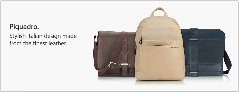 Piquadro. Stylish Italian design made from the finest leather.