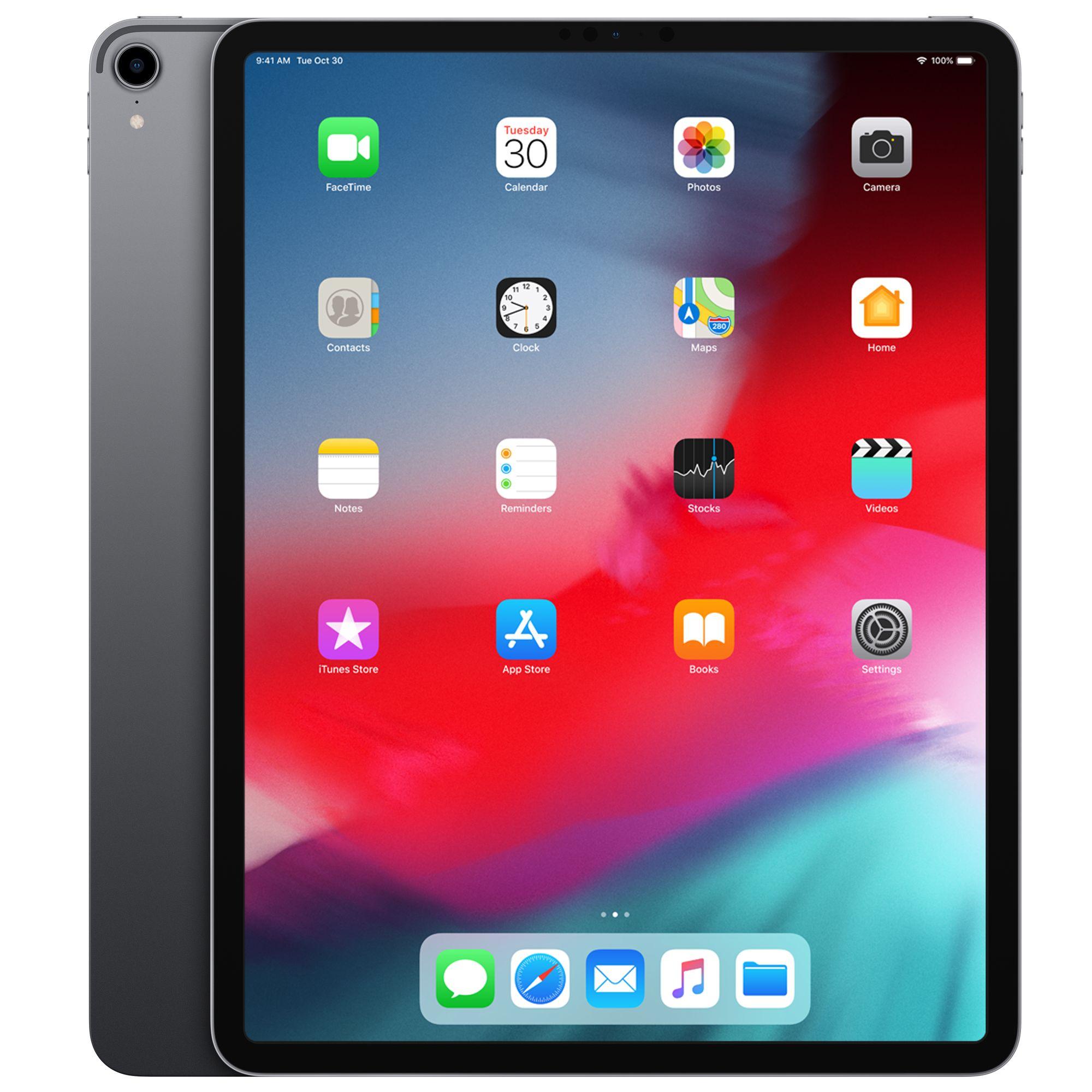 Refurbished 12 9 Inch Ipad Pro Wi Fi 512gb Space Grey 3rd Generation Apple Ie