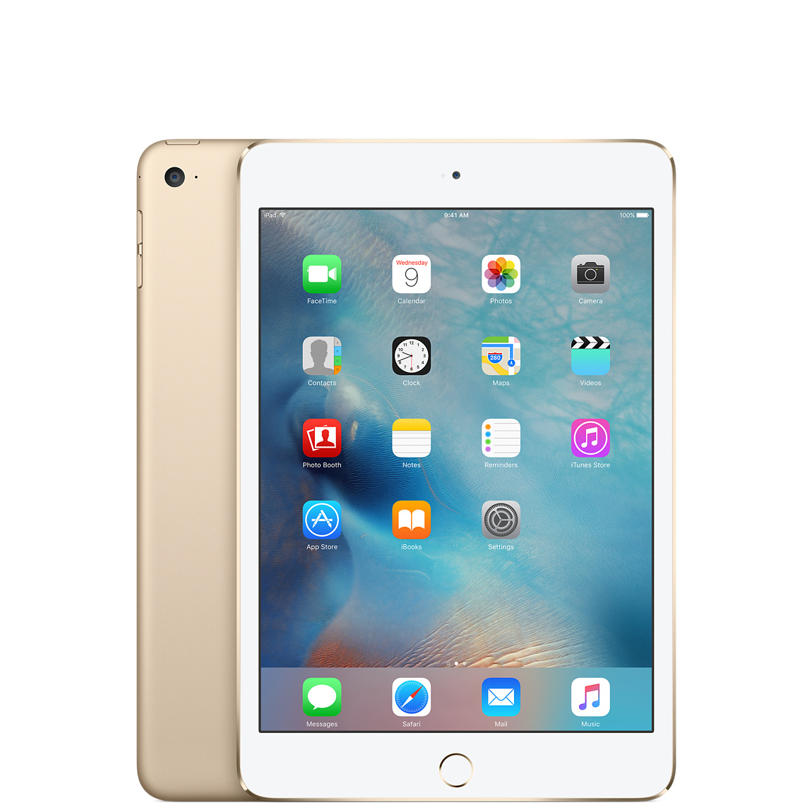 Refurbished iPad mini 4 Wi-Fi 128 GB – Gold - Apple (DE)