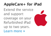 AppleCare Protection Plan. Extend the service and support coverage on your Refurbished iPod up to two years. Learn more.