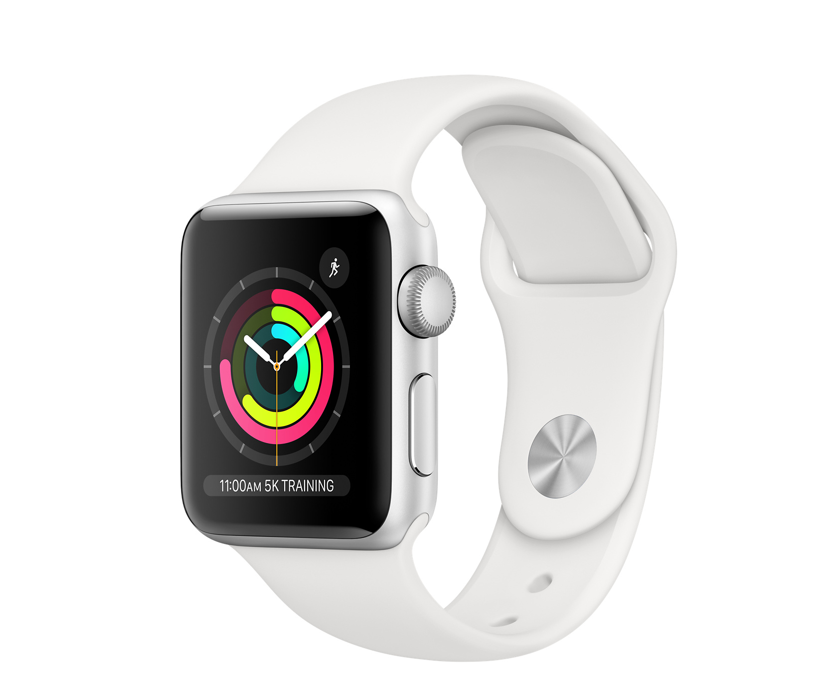 Apple Watch Series 3 GPS, 38mm Silver Aluminum Case with