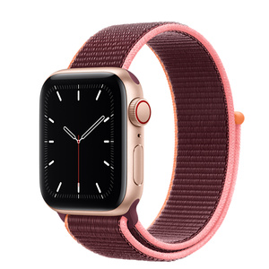 Apple iWatch Series Alloy Leather Combination Sport Loop Band Strap Bracelet