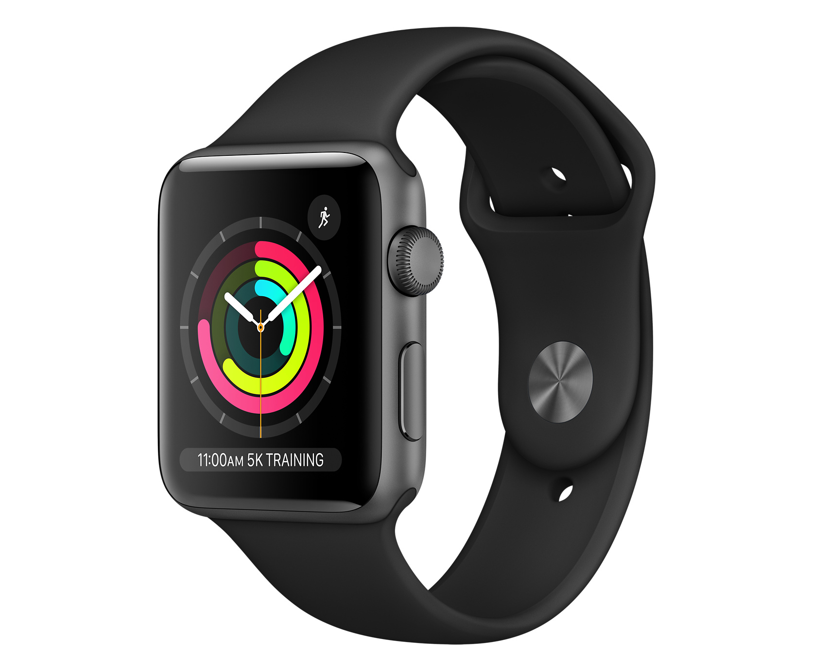 Apple Watch Series 3 GPS, 42mm Space Gray Aluminum Case with