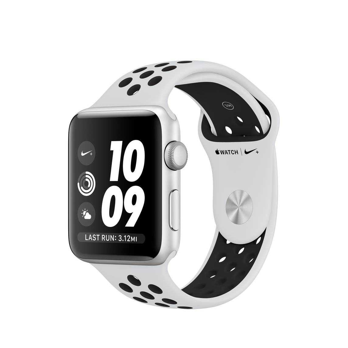 Refurbished Apple Watch Series 3 GPS, 42mm Silver Aluminum Case