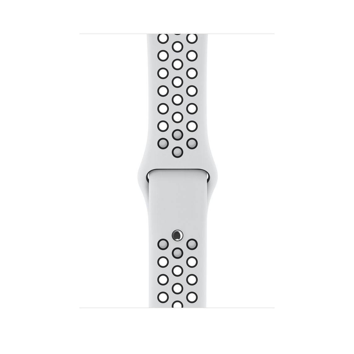 código Morse sátira Gasto  Refurbished Apple Watch Series 3 GPS, 42mm Silver Aluminum Case with Pure  Platinum/Black Nike Sport Band - Education - Apple