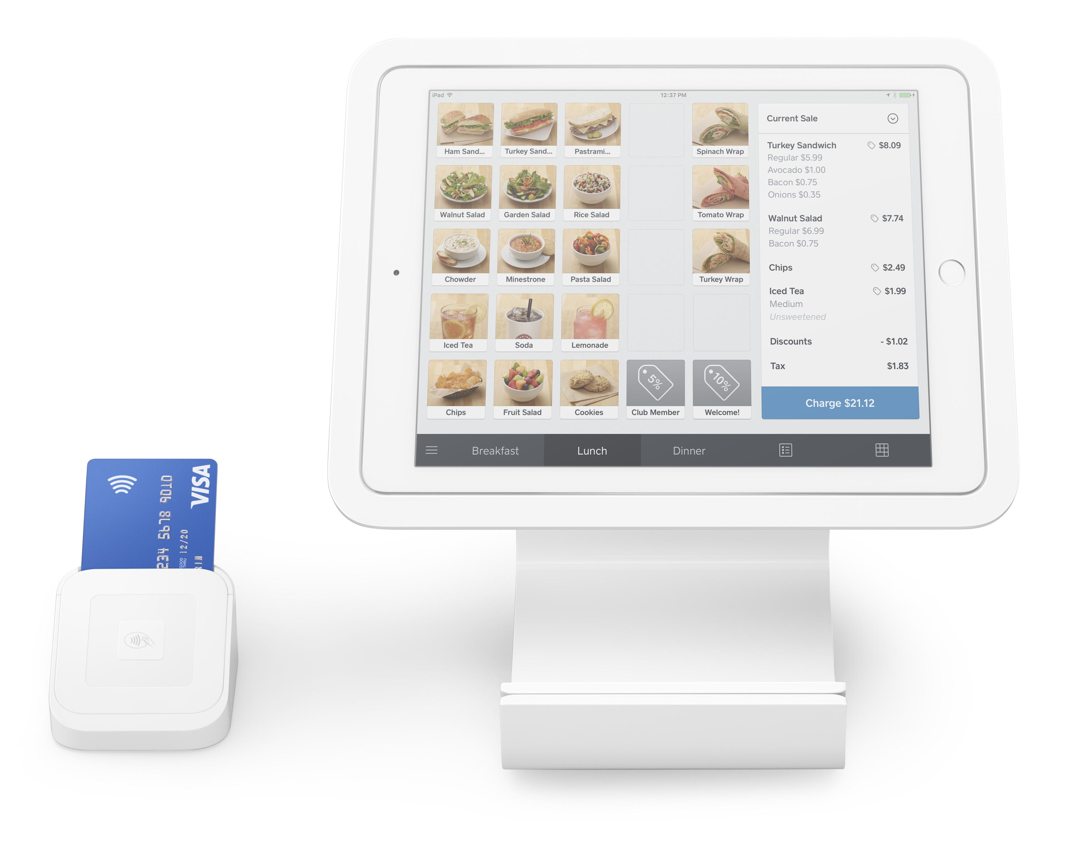 Square Stand for iPad