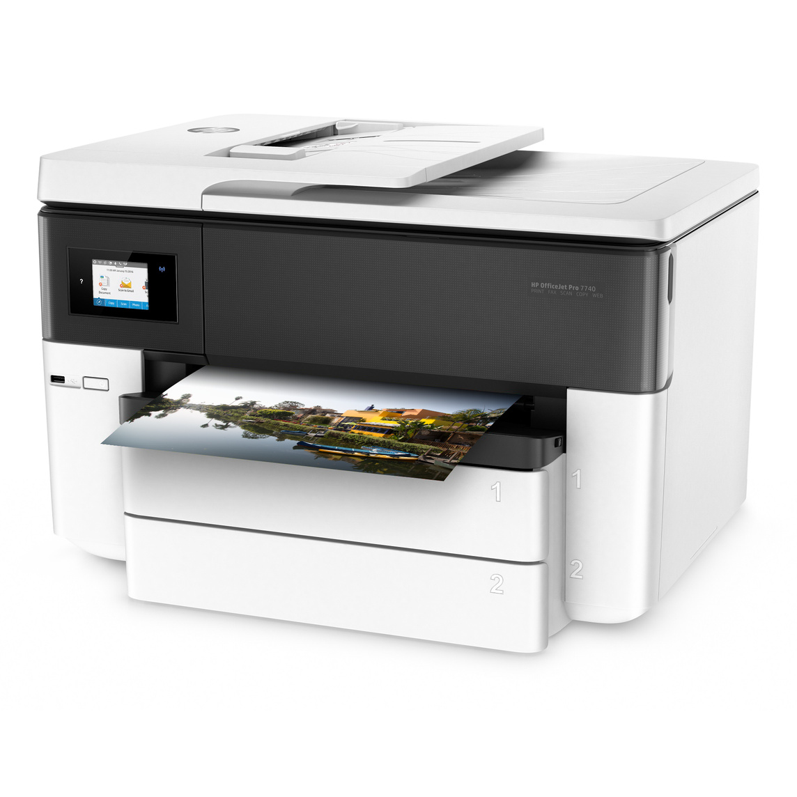 Brilliant Hp Officejet Pro 7740 All In One Wide Format Printer Download Free Architecture Designs Scobabritishbridgeorg