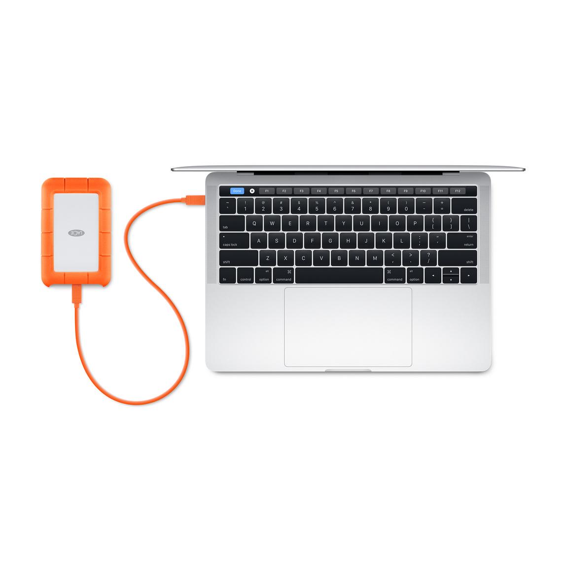 LaCie 1TB Rugged USB-C + USB 3 0 Portable Hard Drive
