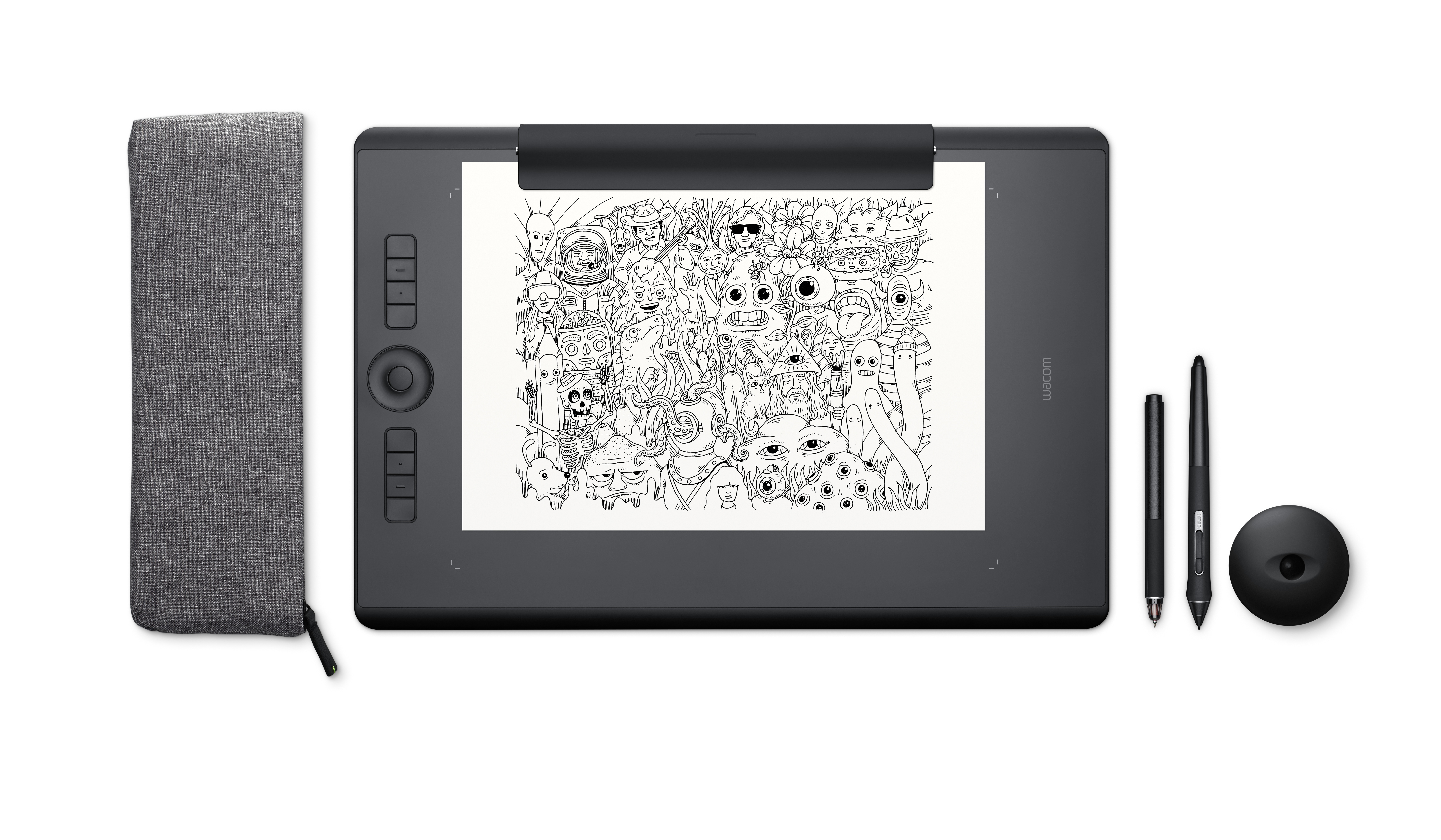 Wacom Intuos Pro Paper Edition Graphic Drawing Tablet - Large - Apple