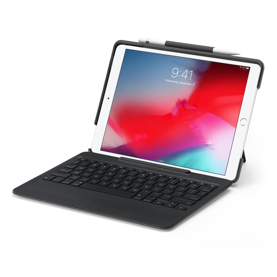 regarder 8b9b8 ab498 Étui avec clavier amovible Slim Combo de Logitech pour iPad Air et iPad Pro  10,5 po - Noir