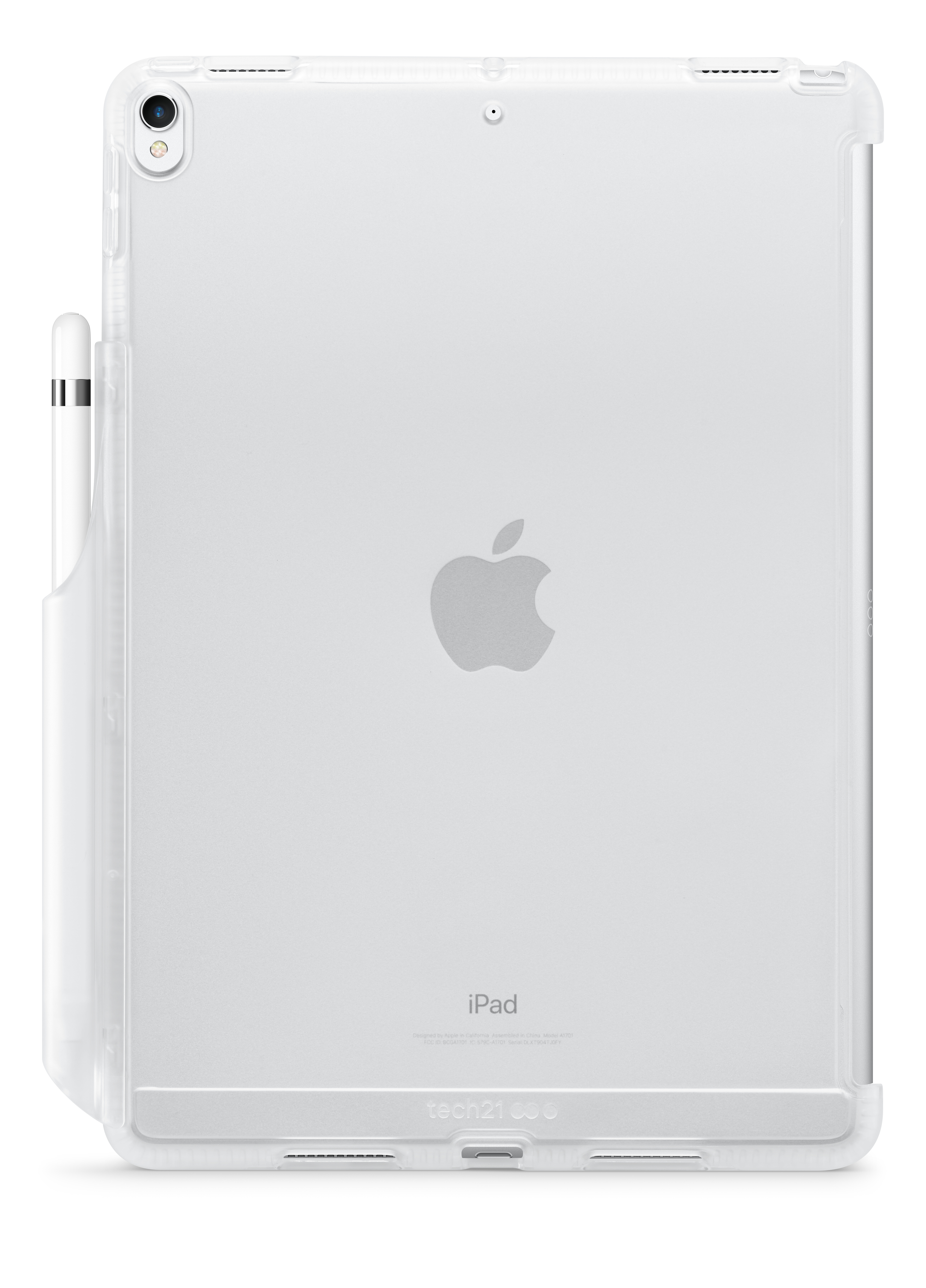 super popular 56a51 1abfe Tech21 Impact Clear Case for 10.5-inch iPad Air and iPad Pro