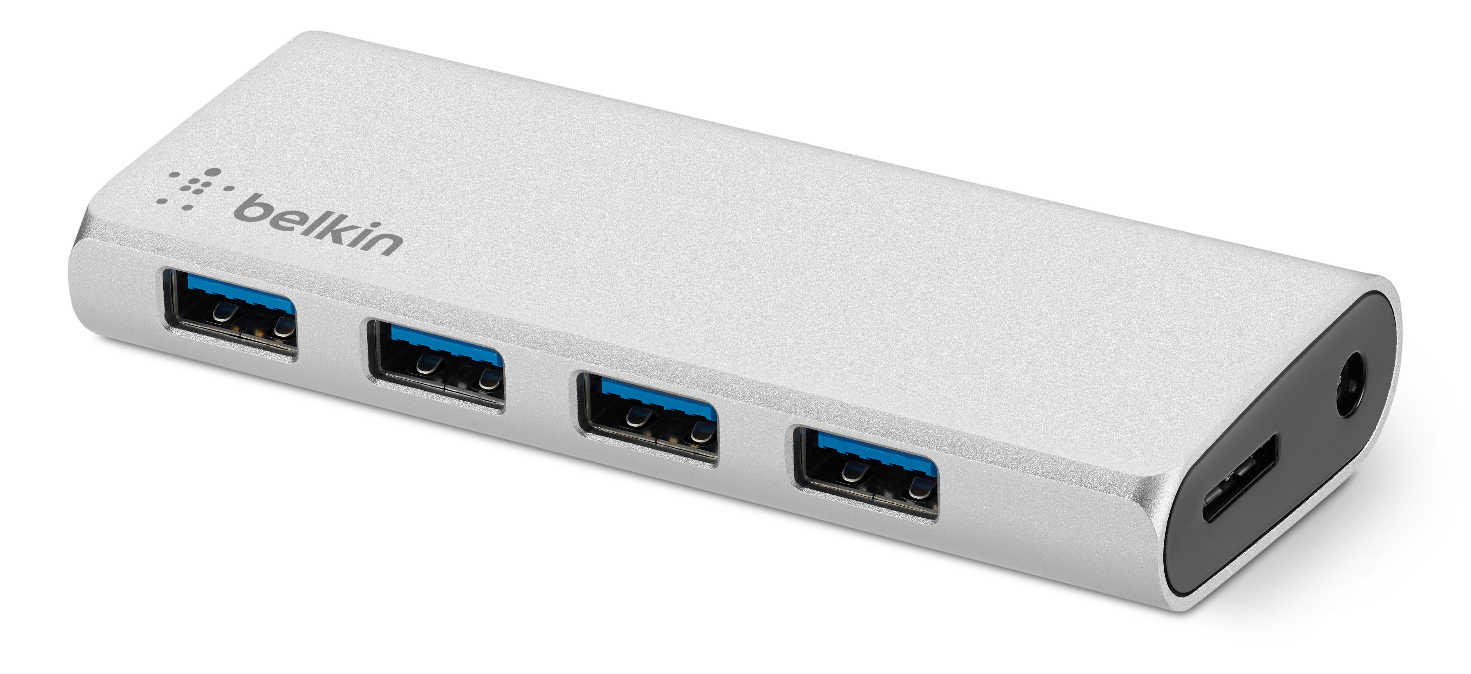Belkin USB 1.1 1-Port Hub + USB-C Cable
