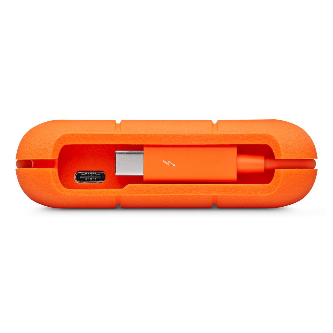 Lacie 2tb Rugged Thunderbolt Usb C Portable Hard Drive