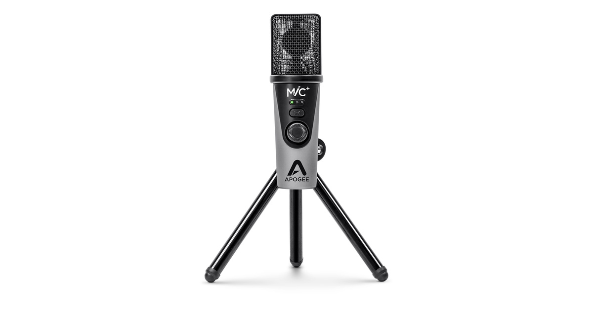 Apogee Mic Plus Usb Microphone Apple