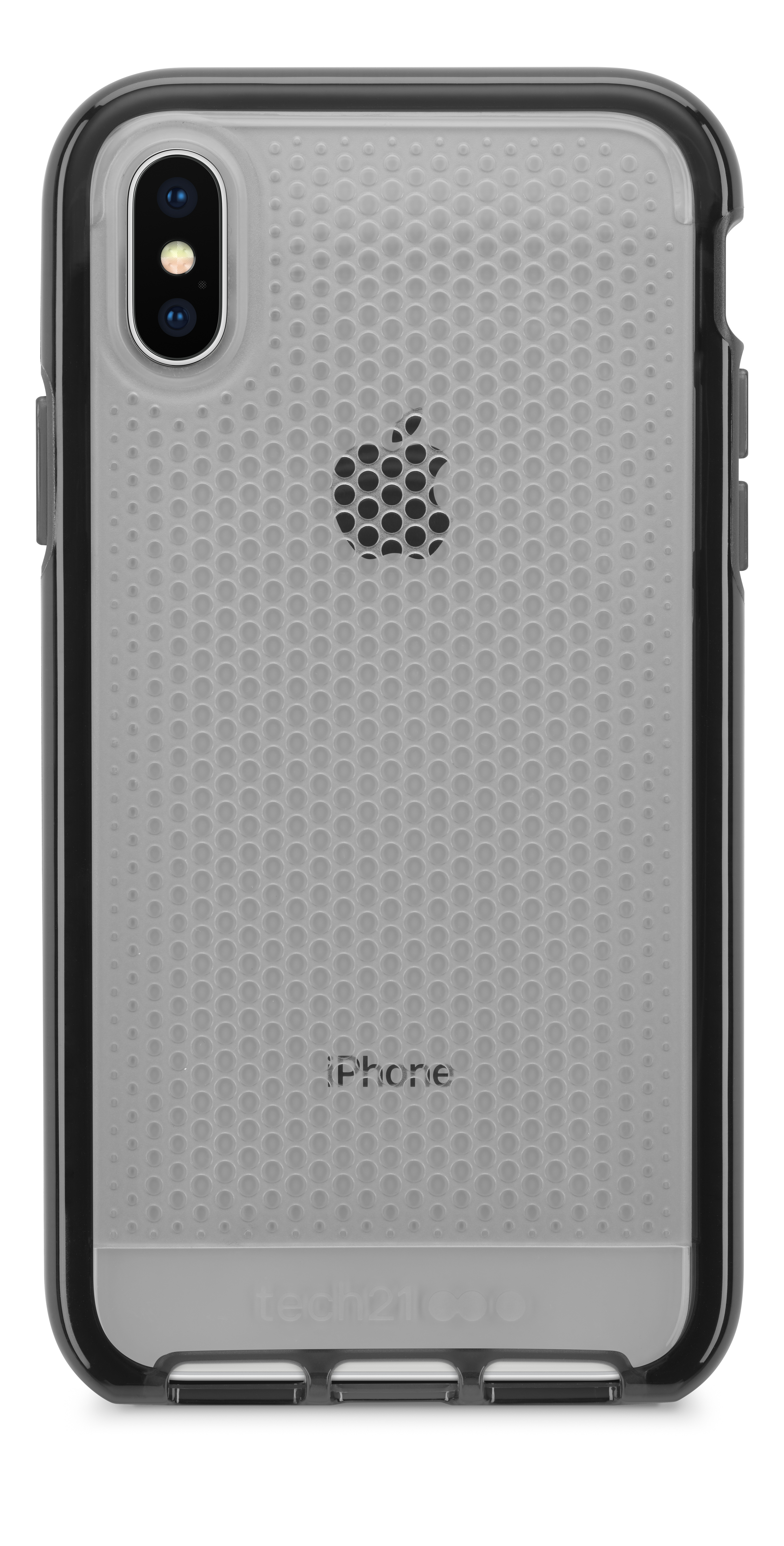 lower price with 00e07 507fd Tech21 Evo Mesh Case for iPhone X - Clear/Black - Apple