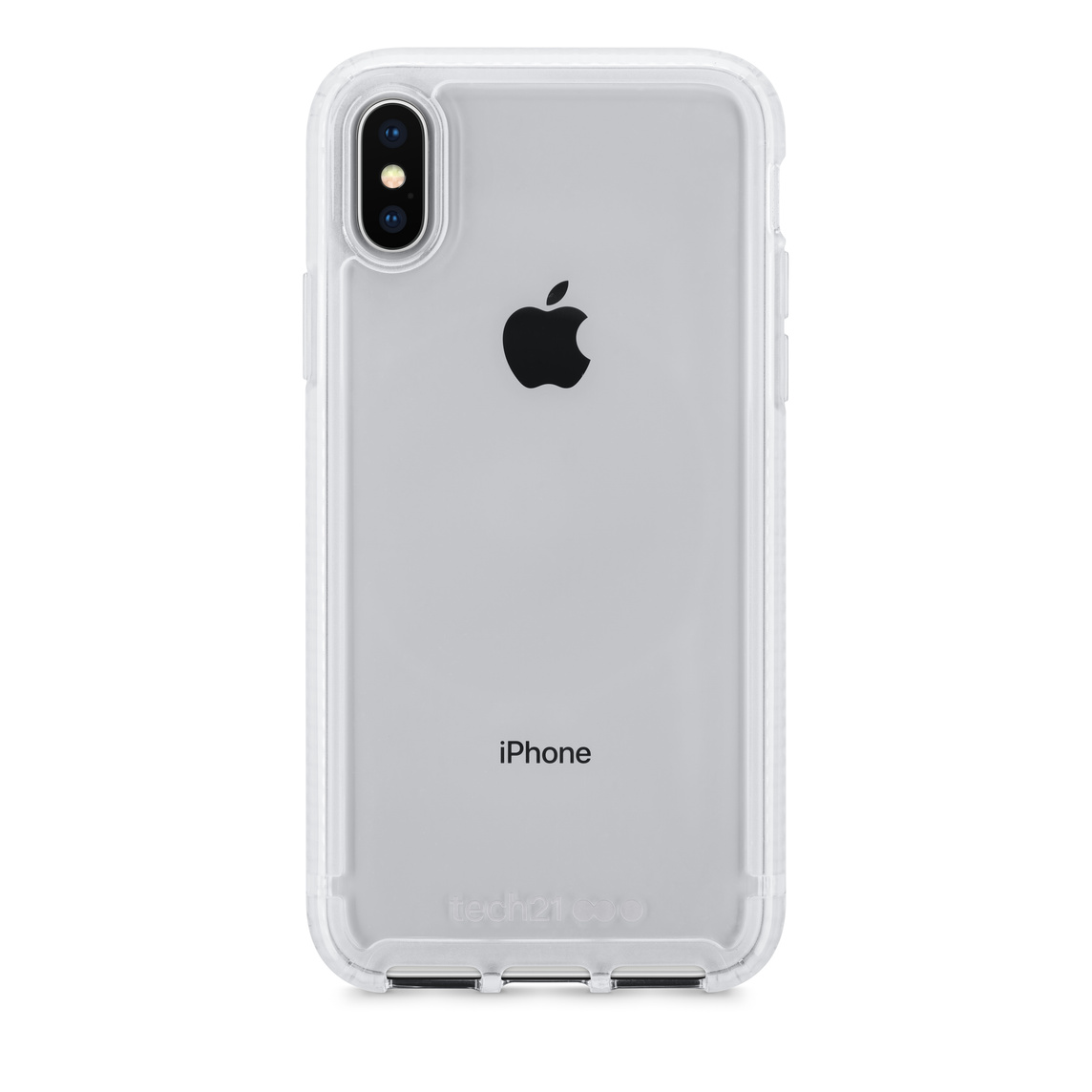 low priced 402a8 cd94e Tech21 Pure Clear Case for iPhone X - Clear - Apple