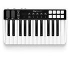 Clavier contrôleur MIDI avec interface audio iRigKeys I/O25 d'IKMultimedia