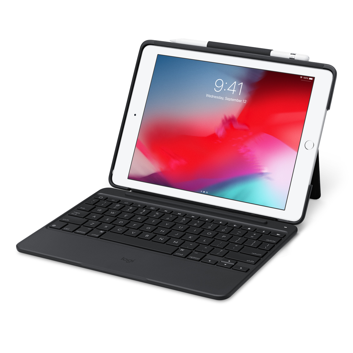 Logitech Slim Combo with detachable keyboard for iPad (6th & 5th generation)