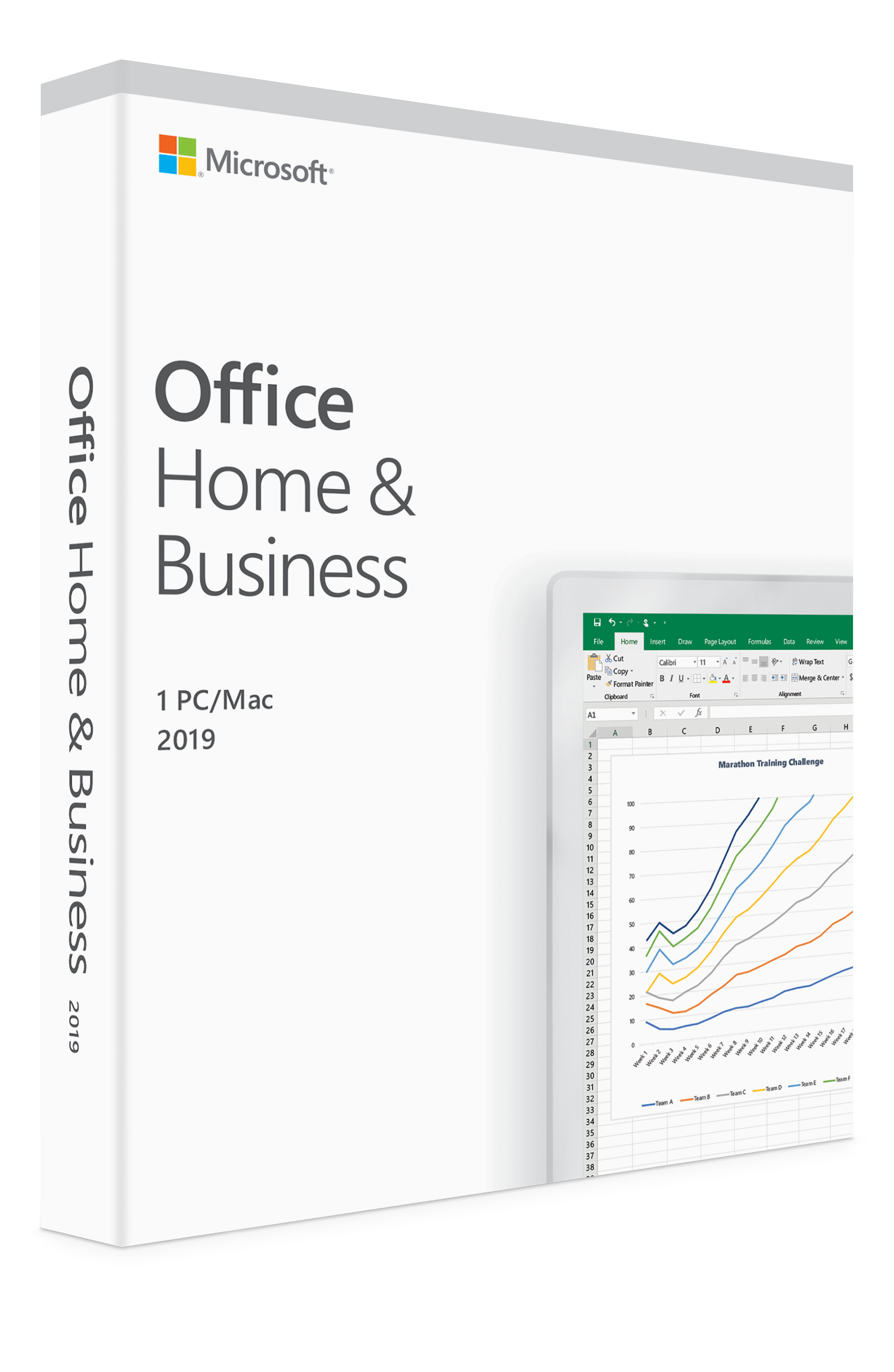 Microsoft Office Home and Business 2016 For Mac 1 User Same Day Shipping
