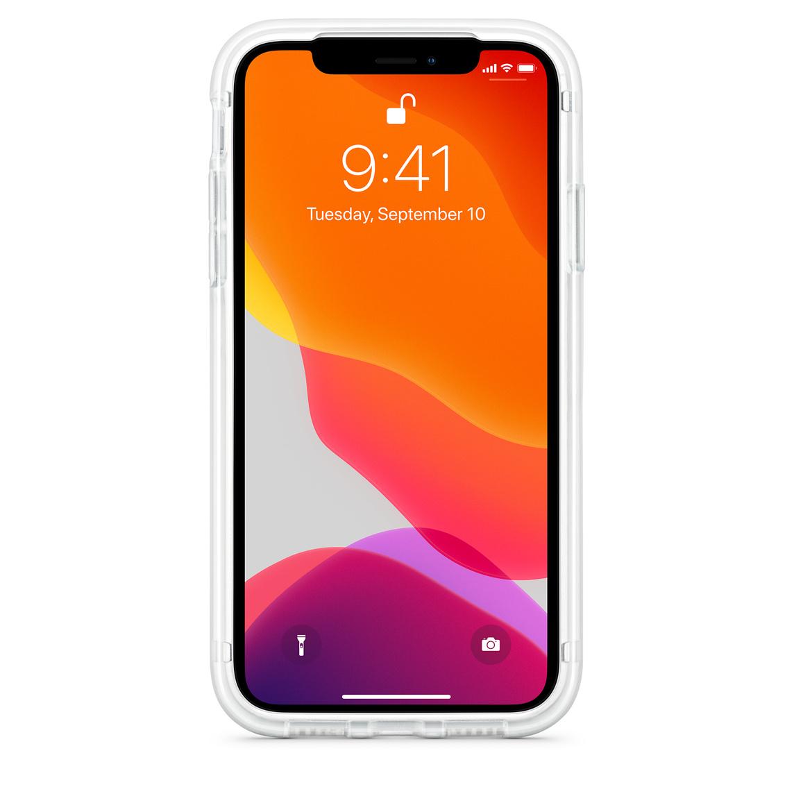 iphone xr seethrough case