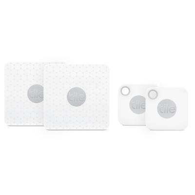 Tile Mate Bluetooth Tracker 2018 (4-pack)