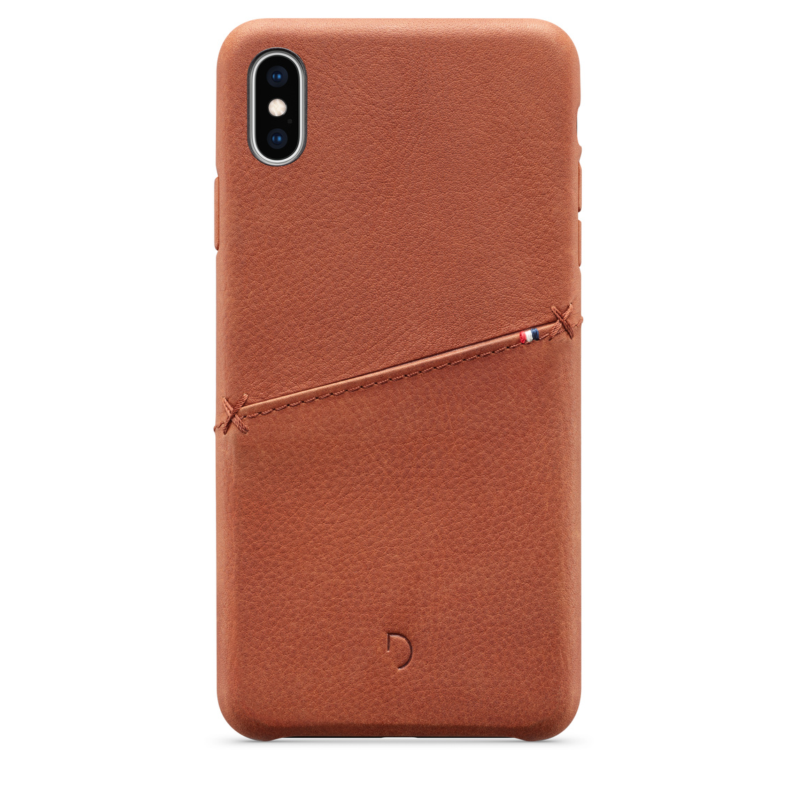 reputable site f4bd6 d16e1 Decoded Leather Snap-On Case for iPhone XS Max