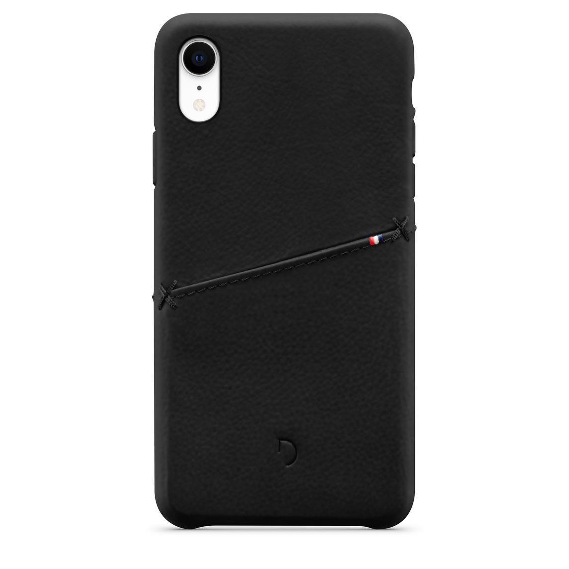 reputable site f8910 1413f Decoded Leather Snap-On Case for iPhone XR