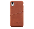 Decoded Leather Snap-On Case for iPhone XR