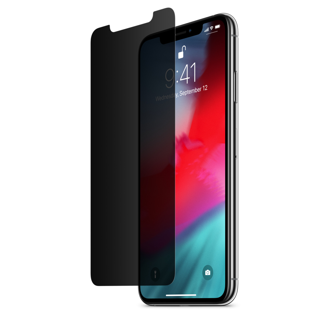 low priced 533ab 291dd Belkin InvisiGlass Ultra Privacy Screen Protection for iPhone XS Max