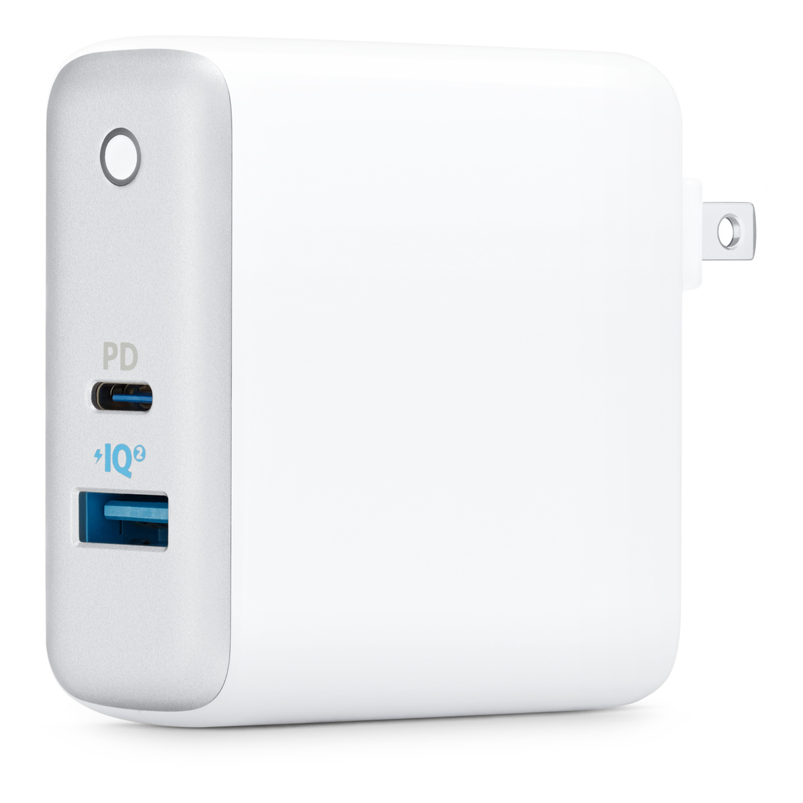Anker PowerPort II PD 2 Port USB Wall Charger with USB C Cable